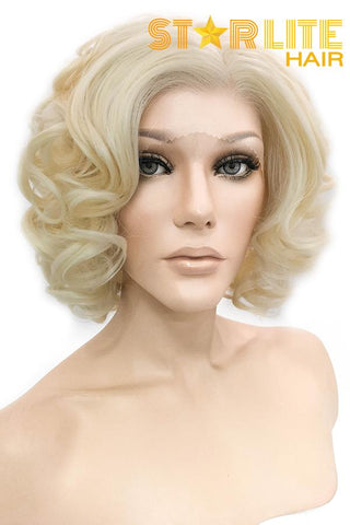 "12"" Brown Fashion Synthetic Hair Wig 50223"