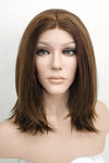 "16"" Mixed Brown Lace Front Synthetic Wig 20132 - StarLite Hair"