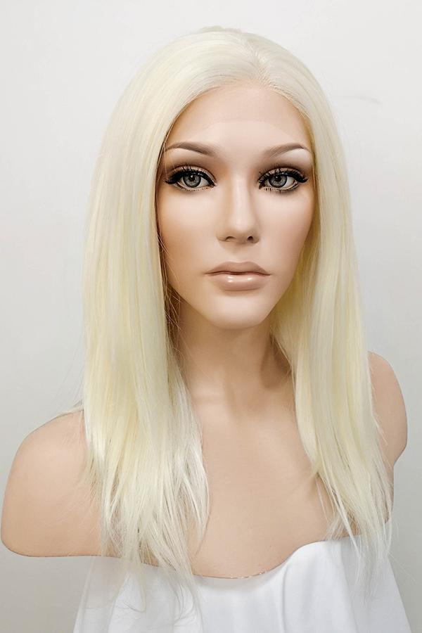 "14"" Light Blonde Lace Front Synthetic Wig 20133 - StarLite Hair"