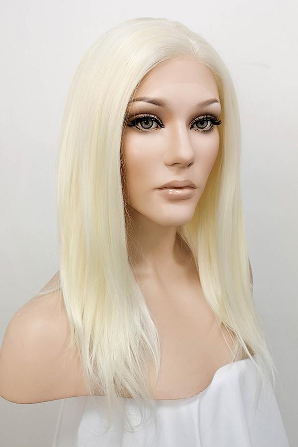 "16"" Light Blonde Lace Front Synthetic Wig 20133"