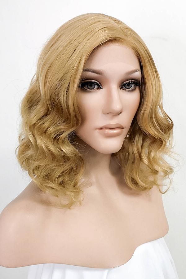 "12"" Medium Blonde Lace Front Synthetic Wig 20150 - StarLite Hair"