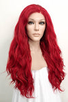 "12"" Pink Lace Front Synthetic Hair Wig 20236"