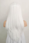 "24"" White Lace Front Synthetic Hair Wig 20225 - StarLite Hair"