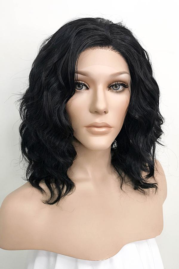 "14"" Black Lace Front Synthetic Hair Wig 20238 - StarLite Hair"