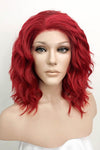 "14"" Red Lace Front Synthetic Hair Wig 20217 - StarLite Hair"