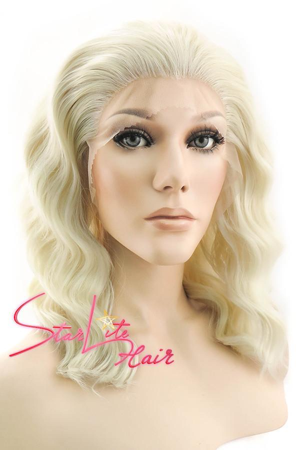 "14"" Light Blonde Lace Front Synthetic Hair Wig 20219 - StarLite Hair"