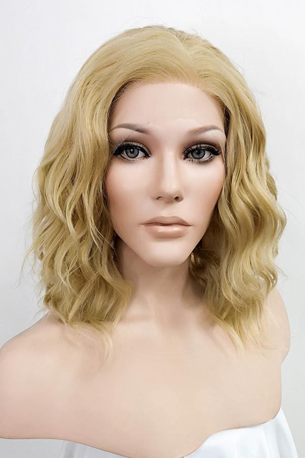 "14"" Blonde Lace Front Synthetic Hair Wig 20258"