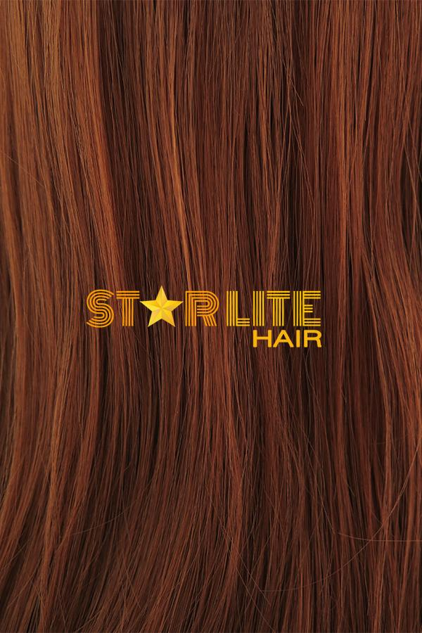 "32"" Auburn Lace Front Synthetic Wig 10247 - StarLite Hair"
