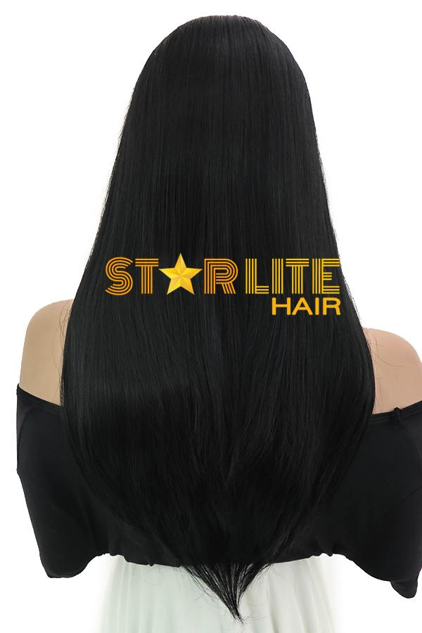 "24"" Black Lace Front Synthetic Hair Wig 10212 - StarLite Hair"