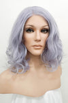 "22"" Dark Orange Lace Front Synthetic Wig 10003"