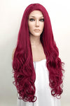 "28"" Dark Purple Fashion Synthetic Wig 50062"
