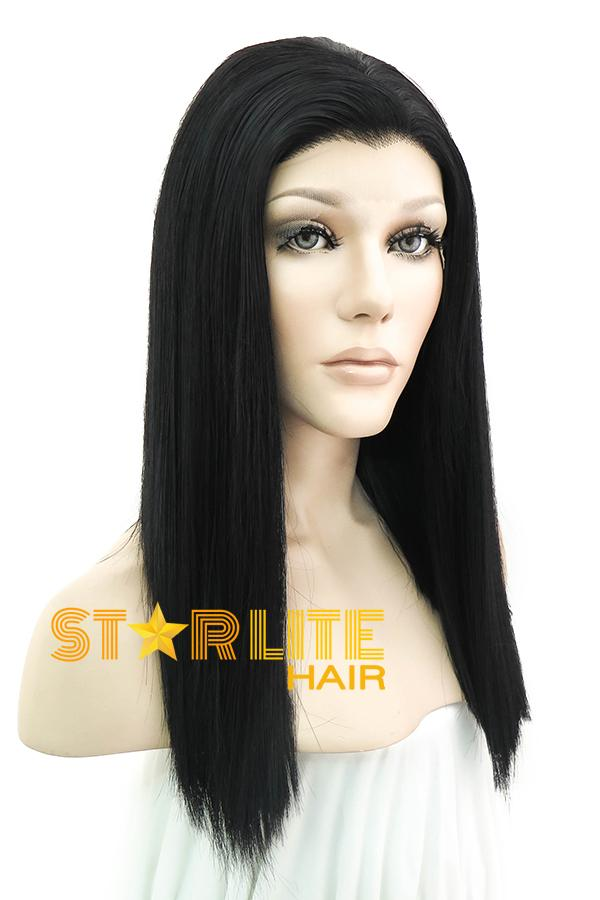 "16"" Black Lace Front Synthetic Hair Wig 10270 - StarLite Hair"