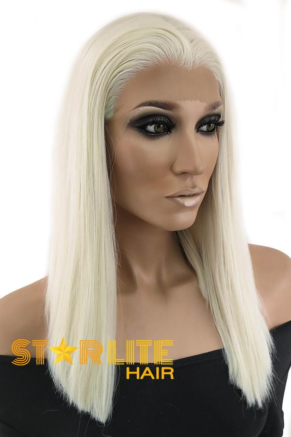 "14"" Light Blonde Lace Front Synthetic Wig 10273 - StarLite Hair"