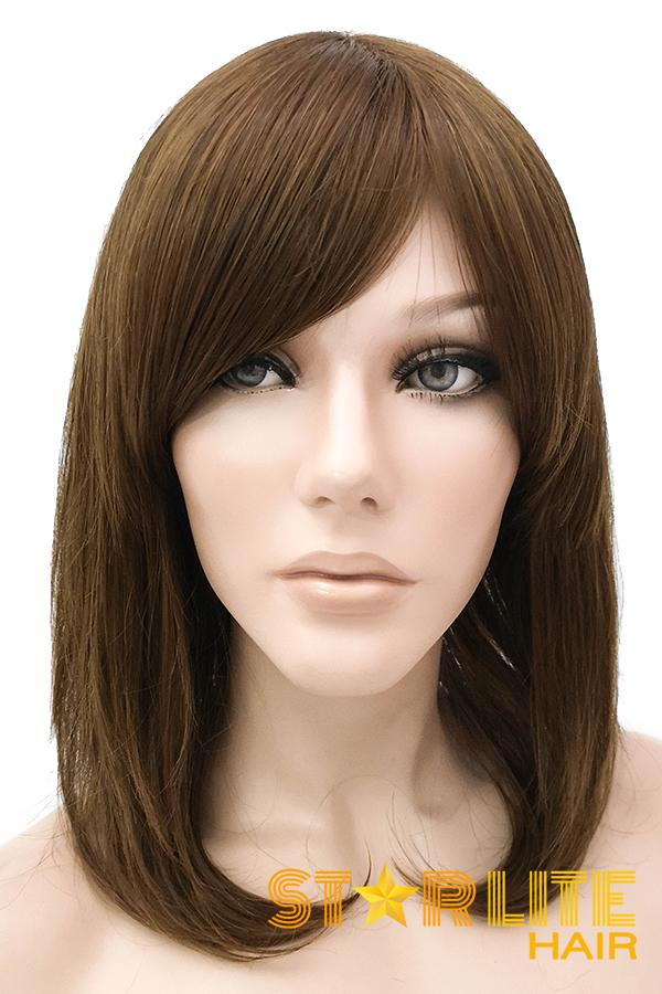 "14"" Brown Lace Front Synthetic Wig 40028 - StarLite Hair"