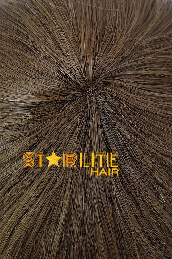 "18"" Brown With Blonde Lace Front Synthetic Wig 40029 - StarLite Hair"