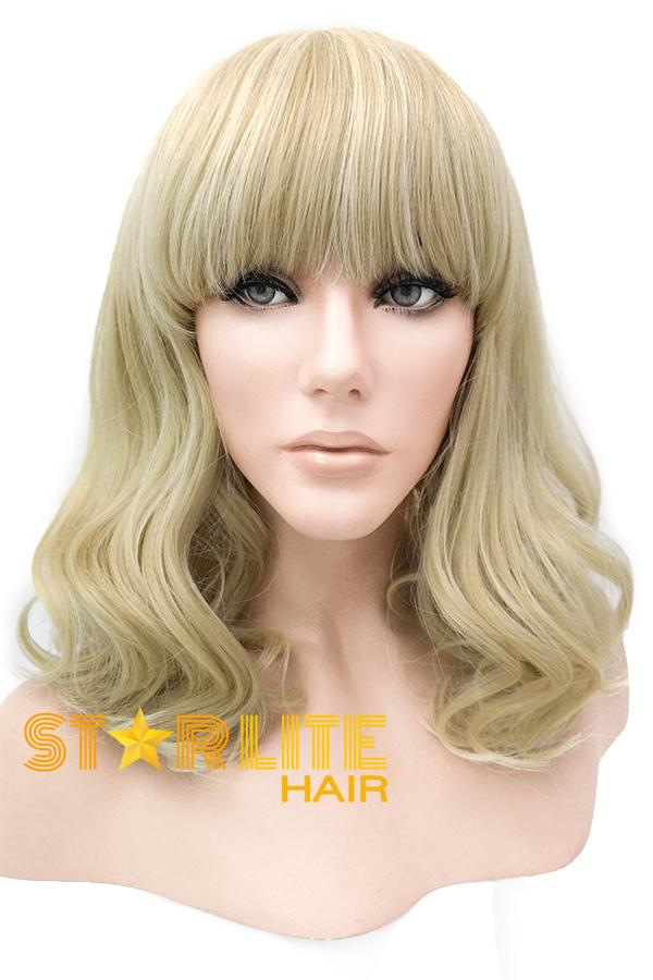 "12"" Blonde Lace Front Synthetic Wig 40031 - StarLite Hair"