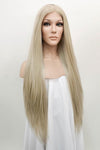 "30"" Ash Blonde Lace Front Synthetic Wig 10092 - StarLite Hair"