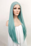 "28"" Mixed Light Green Lace Front Hair Wig 10165 - StarLite Hair"
