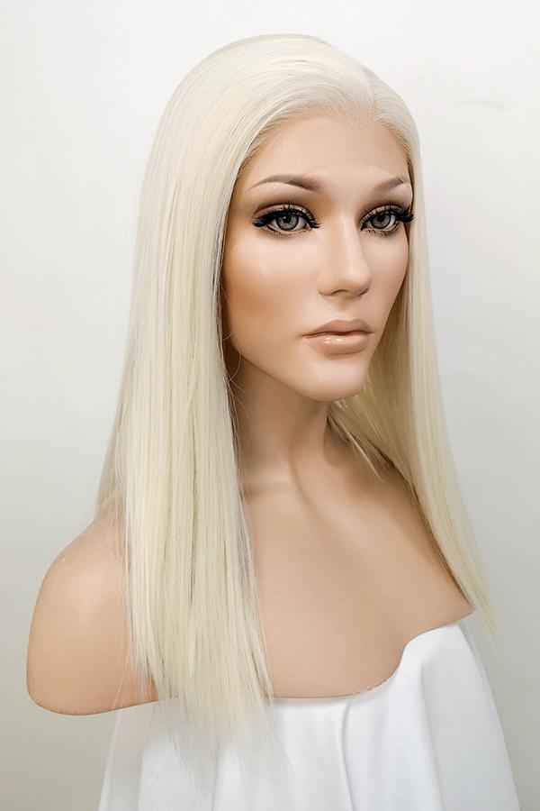 "14"" Light Blonde Lace Front Synthetic Hair Wig 10272 - StarLite Hair"