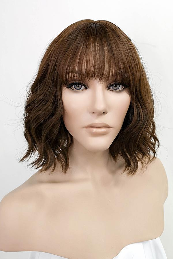 "12"" Brown Fashion Synthetic Hair Wig 50221 - StarLite Hair"
