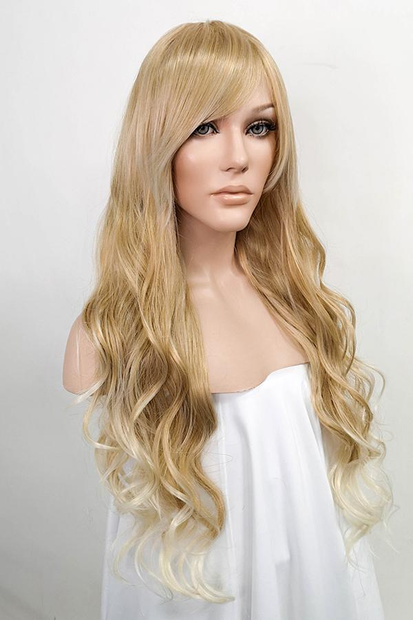 "26"" Two Tone Blonde Fashion Hair Wig 50029"