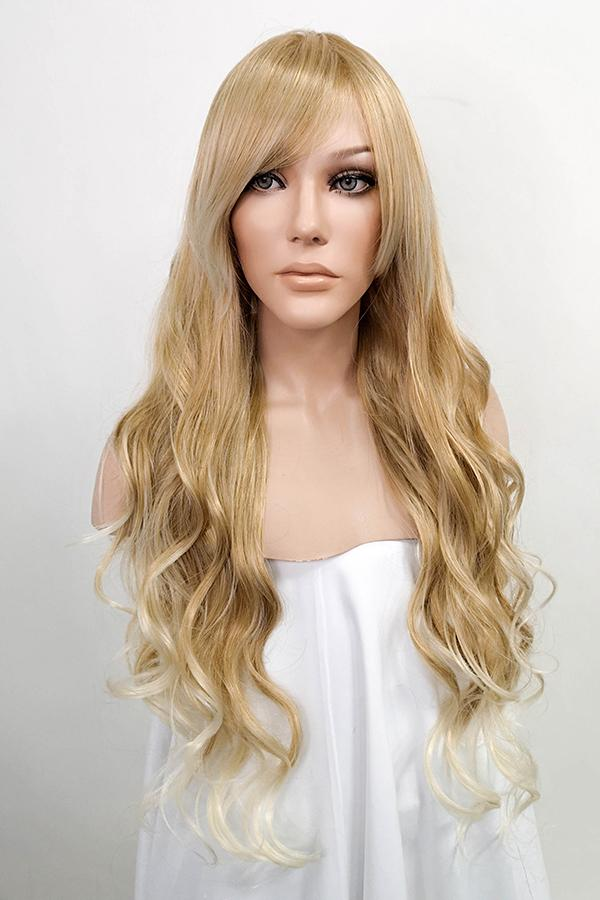 "26"" Two Tone Blonde Fashion Synthetic Wig 50029"