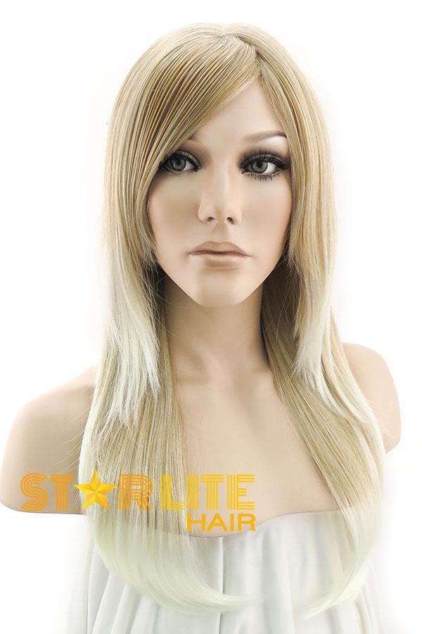 "24"" Two Tone Blonde Fashion Synthetic Hair Wig 50011 - StarLite Hair"
