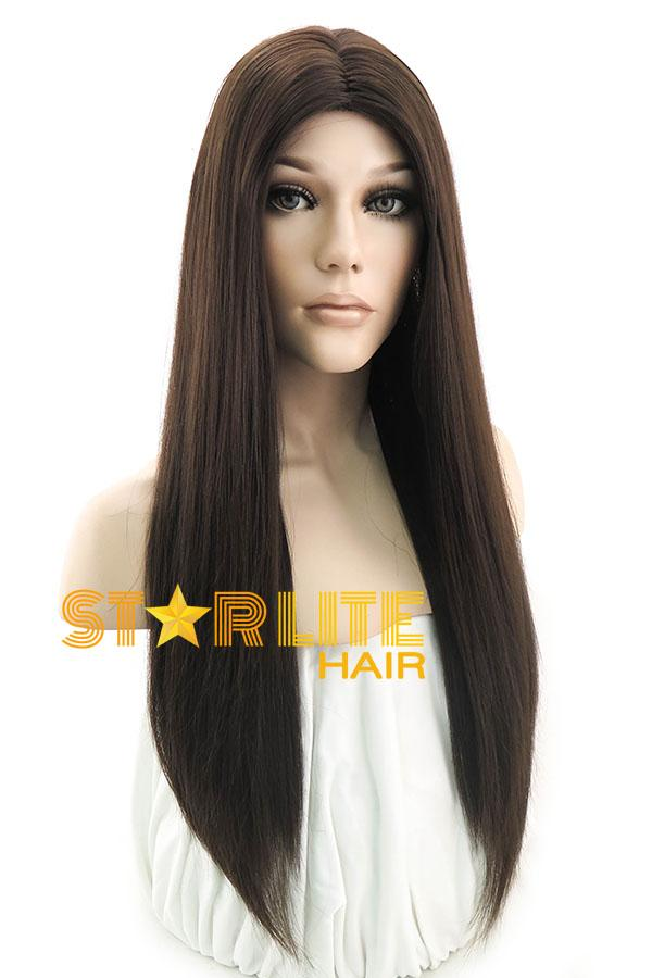 "26"" Brunette Fashion Synthetic Hair Wig 50013 - StarLite Hair"