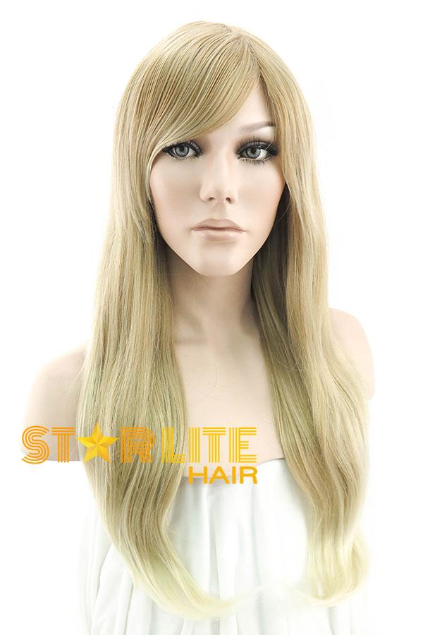 "24"" Mixed Blonde Fashion Synthetic Hair Wig 50014 - StarLite Hair"