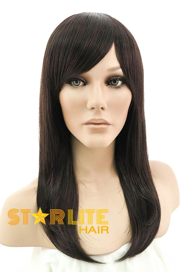 "15"" Brunette Fashion Synthetic Hair Wig 50005 - StarLite Hair"