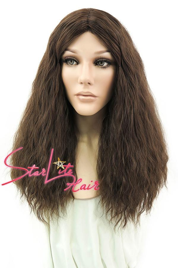 "18"" Mixed Brunette Fashion Synthetic Hair Wig 50008 - StarLite Hair"