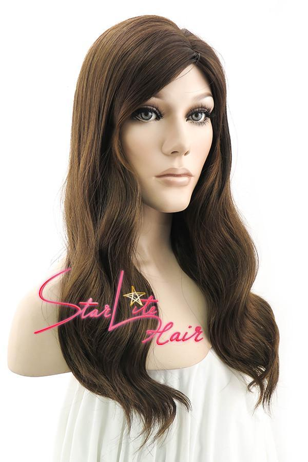 "20"" Mixed Brown Fashion Synthetic Hair Wig 50021 - StarLite Hair"