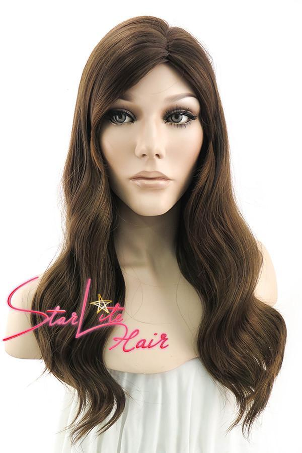 "20"" Mixed Brunette Fashion Synthetic Hair Wig 50021 - StarLite Hair"