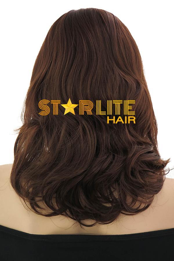"18"" Brunette Fashion Synthetic Hair Wig 50189 - StarLite Hair"