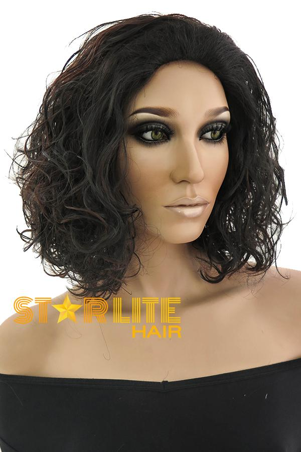 "17""  Mixed Brunette Fashion Synthetic Hair Wig 50158 - StarLite Hair"