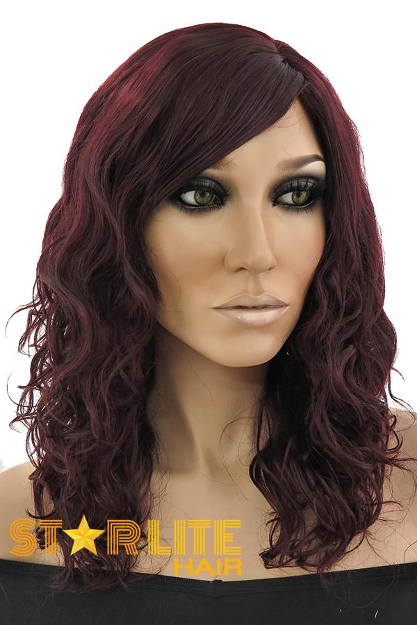 "18"" Auburn Fashion Synthetic Hair Wig 50159 - StarLite Hair"