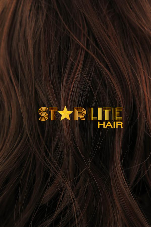 "17"" Reddish Brown Fashion Synthetic Hair Wig 50161 - StarLite Hair"
