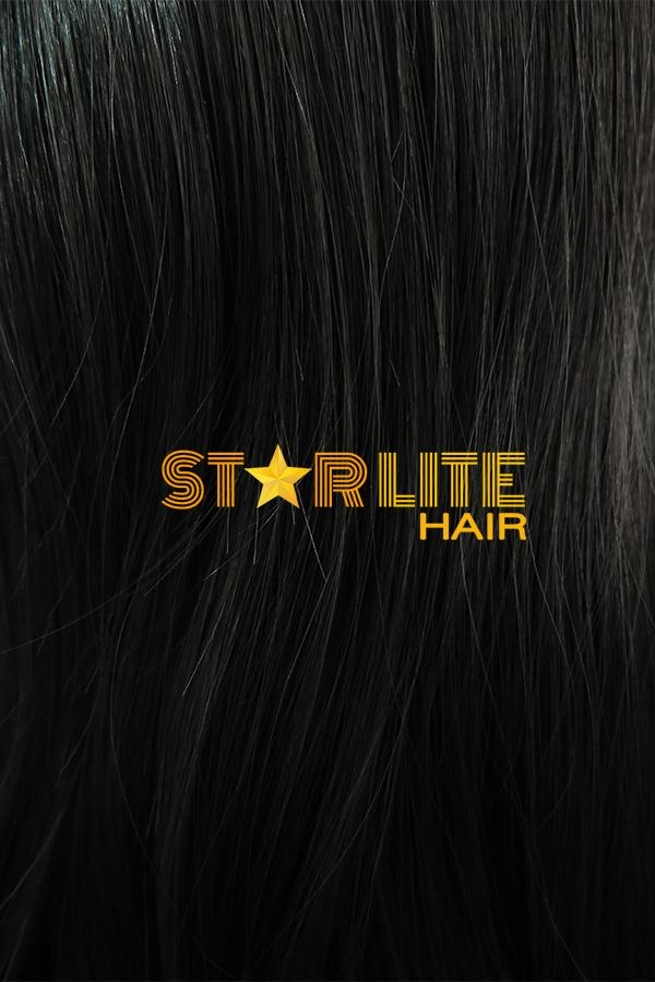 "31"" Black Fashion Synthetic Hair Wig 50172 - StarLite Hair"
