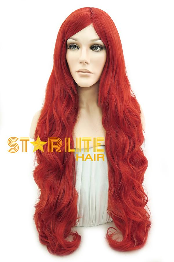 "31"" Red Fashion Synthetic Hair Wig 50144 - StarLite Hair"