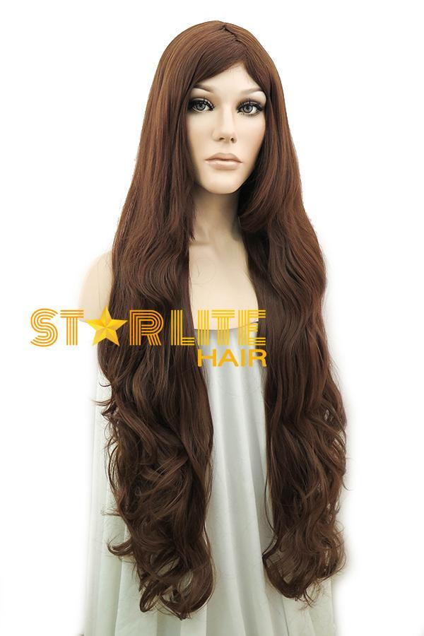 "31"" Dark Brown Fashion Synthetic Hair Wig 50056 - StarLite Hair"