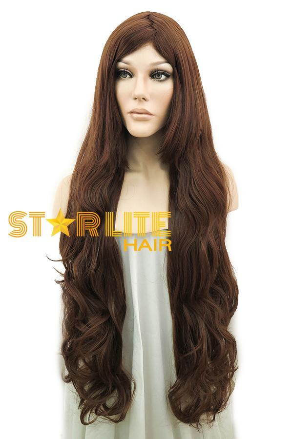 "31"" Dark Brown Synthetic Hair Wig 50056 - StarLite Hair"
