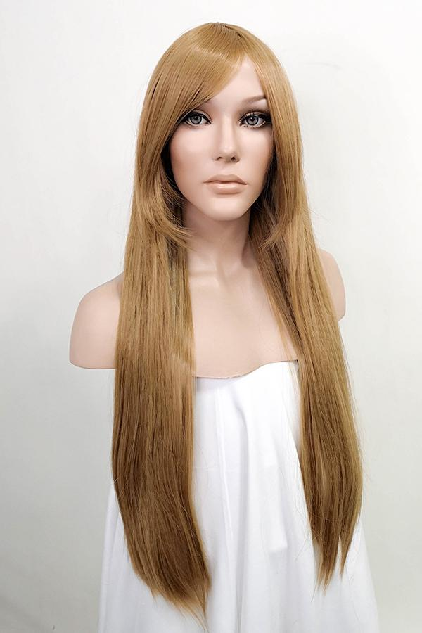 "24"" Dark Blonde Fashion Synthetic Hair Wig 50040"