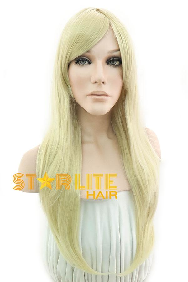 "24"" Light Blonde Fashion Synthetic Hair Wig 50042 - StarLite Hair"