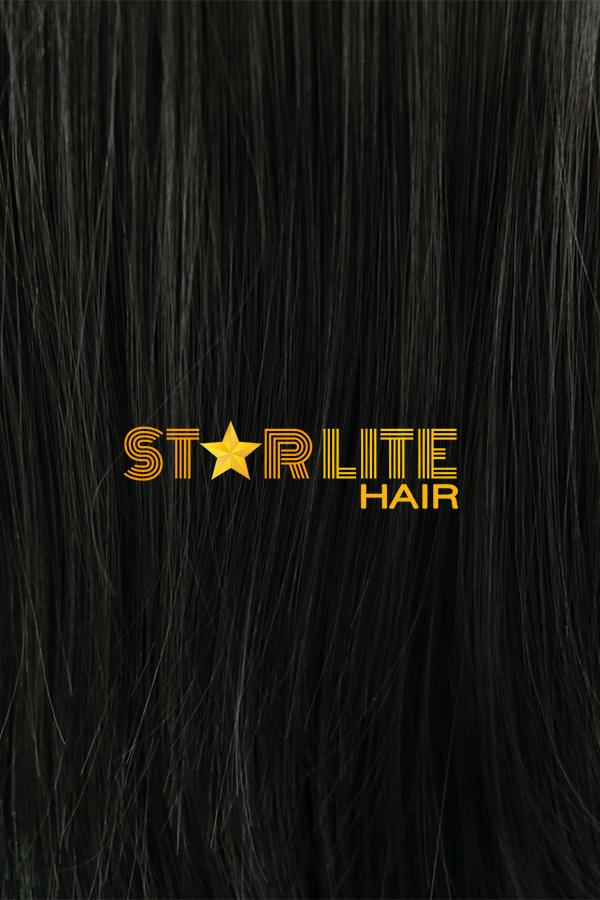 "24"" Black Fashion Synthetic Wig 50043 - StarLite Hair"