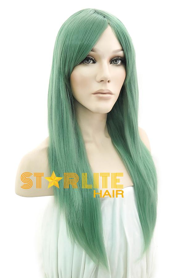 "24"" Ash Green Fashion Synthetic Wig 50129 - StarLite Hair"