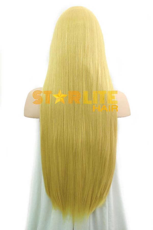 "31"" Yellow Blonde Fashion Synthetic Hair Wig 50201 - StarLite Hair"