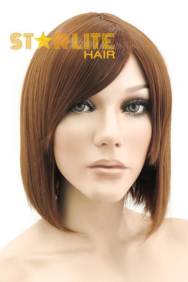 "10"" Brown Fashion Synthetic Hair Wig 50037 - StarLite Hair"