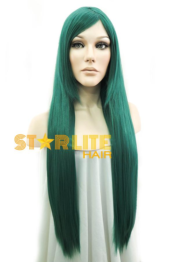 "31"" Green Fashion Synthetic Hair Wig 50173 - StarLite Hair"