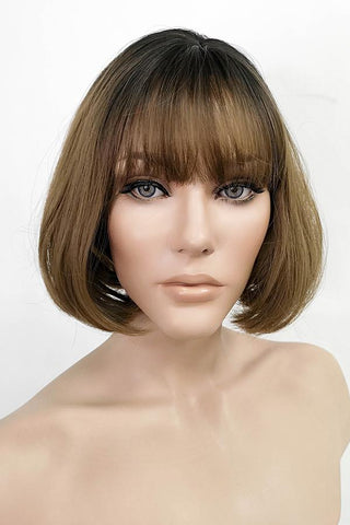 "18"" Blonde Fashion Synthetic Hair Wig 50229"