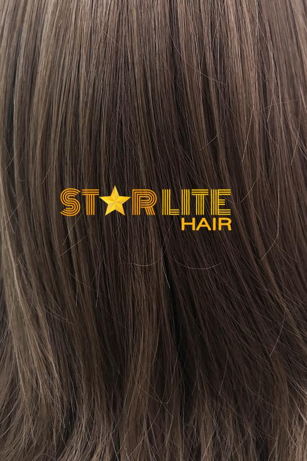 "15"" Brown Fashion Synthetic Hair Wig 50228 - StarLite Hair"
